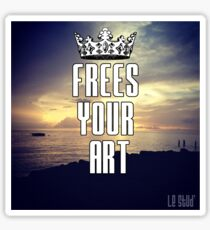 FYA - Frees Your Art #3 Sticker