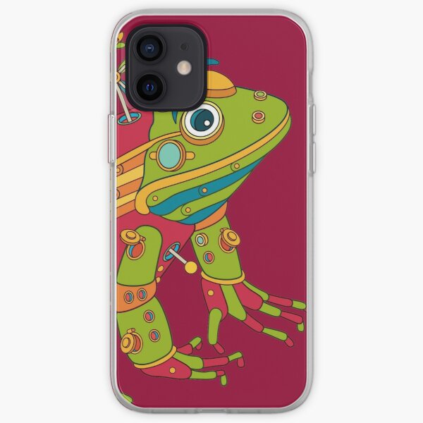 Frog, from the AlphaPod collection iPhone Soft Case