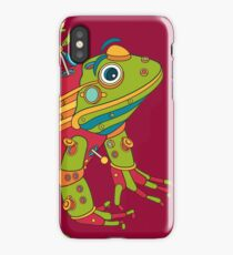 Frog, from the AlphaPod collection iPhone Case