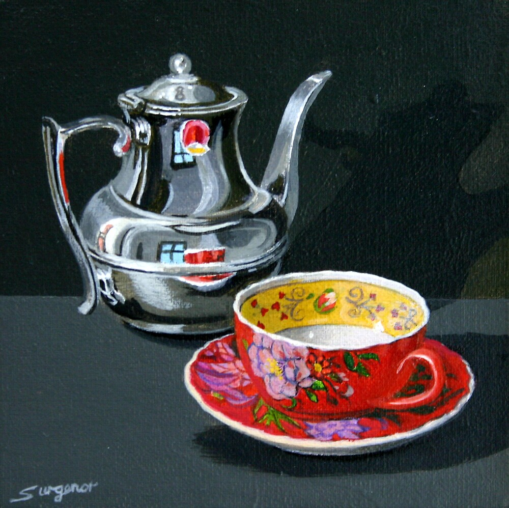 Time for tea by Freda Surgenor