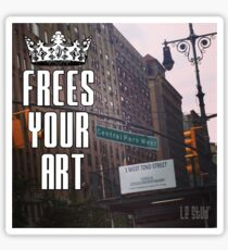 FYA - Frees Your Art #4 Sticker