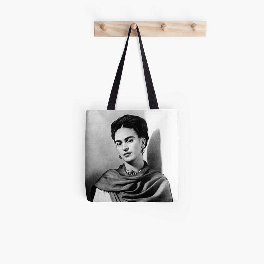 Porträt von Frida Kahlo Tote Bag