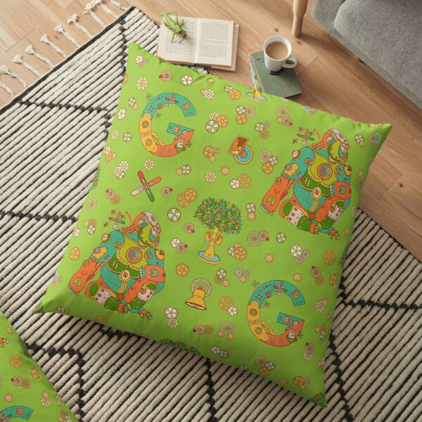 Gorilla, from the AlphaPod collection Floor Pillow