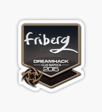 Friberg DreamHack Cluj-Napoca 2015 Sticker