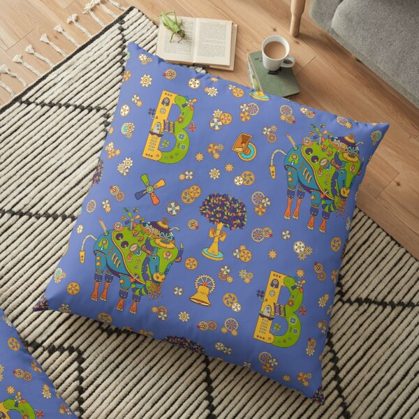 Bison, from the AlphaPod collection Floor Pillow