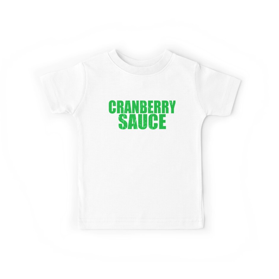 Cranberry Sauce Tree Simple Christmas T Shirts Cute Funny Christmas ...