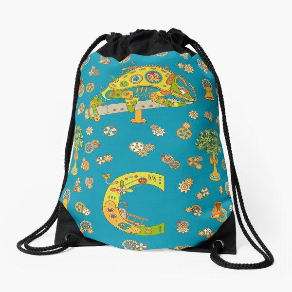 Chameleon, from the AlphaPod collection Drawstring Bag