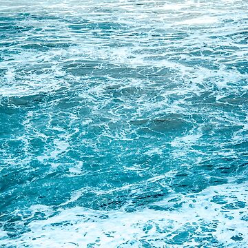 Blue Rough Sea  by banginT