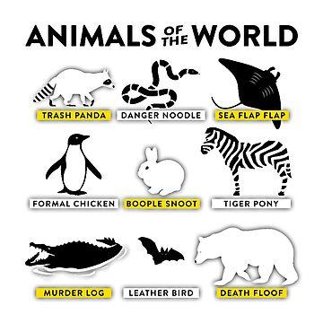 Animals of the World by MGakowski