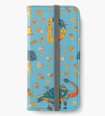 Dinosaur, from the AlphaPod collection iPhone Wallet/Case/Skin