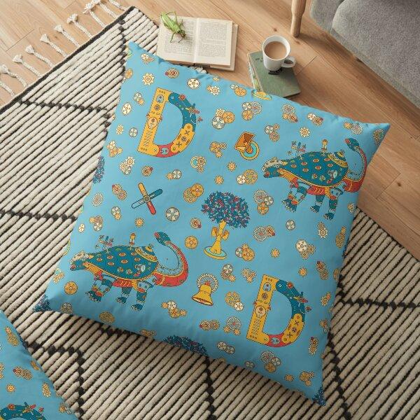 Dinosaur, from the AlphaPod collection Floor Pillow