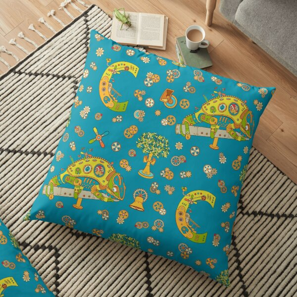 Chameleon, from the AlphaPod collection Floor Pillow