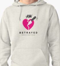 LIL XAN BETRAYED OFFICIAL COVER HIGH QUALITY RENDER Pullover Hoodie