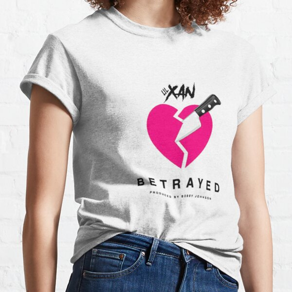 LIL XAN BETRAYED OFFICIAL COVER HIGH QUALITY RENDER Classic T-Shirt