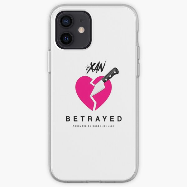 LIL XAN BETRAYED OFFICIAL COVER HIGH QUALITY RENDER iPhone Soft Case