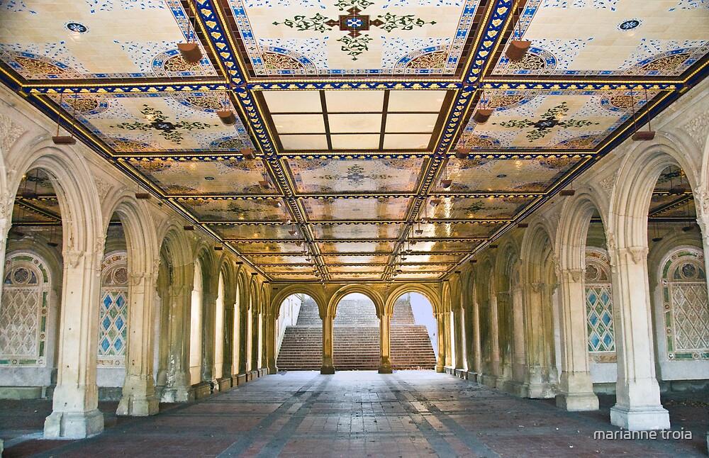 Bethesda Terrace Arcade by marianne troia