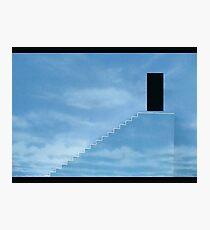 Truman Show- The Sky Exit  Photographic Print