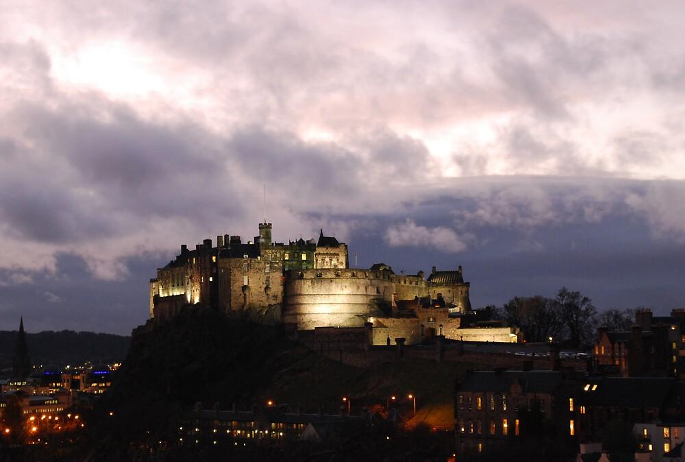 Edinburgh castle by Dido