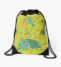 Armadillo, from the AlphaPod collection Drawstring Bag
