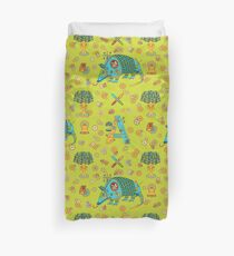 Armadillo, from the AlphaPod collection Duvet Cover
