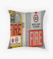 Keep The Rescuers Safe Throw Pillow