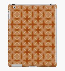 Orange retro pattern iPad Case/Skin