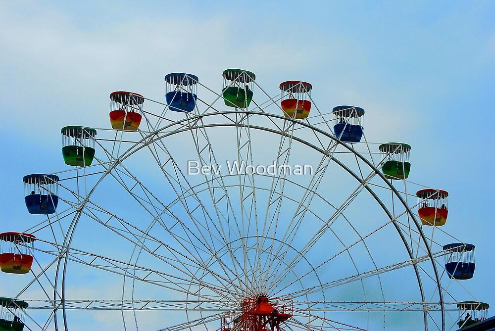 Ferris Wheel - Luna Park Sydney by Bev Woodman