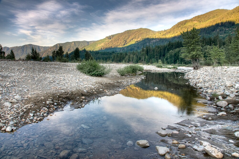 Early Morning at Cle Elum by Cameron  Patrick