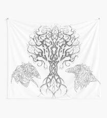 Tela decorativa Yggdrasil