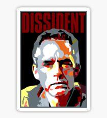 Dissident. Pour Jordan Peterson Fan Sticker