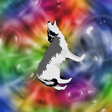 groovy wolf by happymigrane