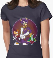 Rayman, Ly and Grand Minimus | Rayman 2 Women's Fitted T-Shirt