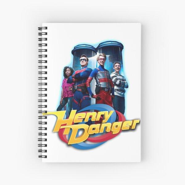 Sala de control de Henry Danger Cuaderno de espiral