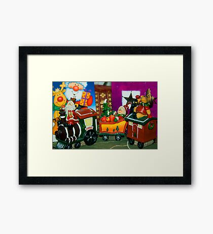 Polar Express Framed Print