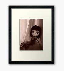 Sepia Darling Framed Print