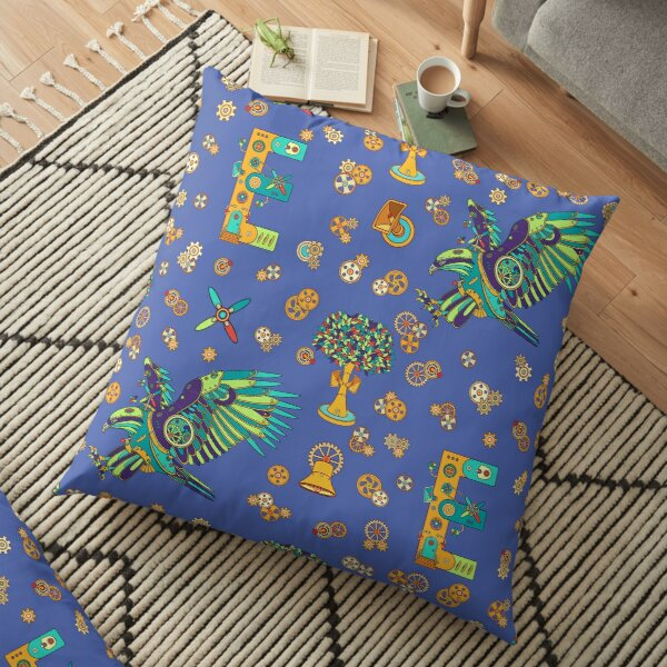 Eagle, from the AlphaPod collection Floor Pillow