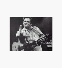 Johnny Cash Galeriedruck