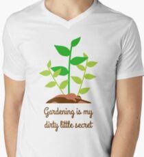 Gardening T-Shirt Men's V-Neck T-Shirt