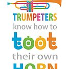 Funny Trumpet by evisionarts