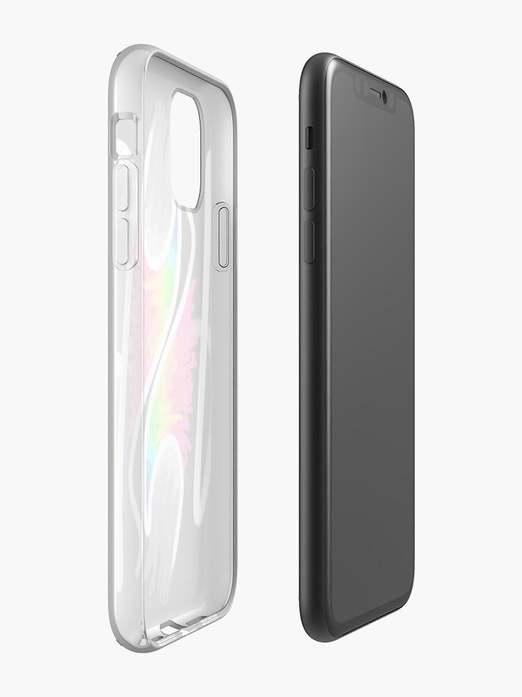 Coque iPhone «Conception de typographie esthétique du paradis», par warddt