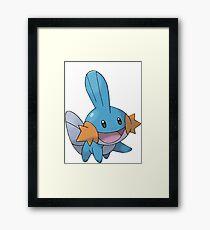 Mudkip Framed Print