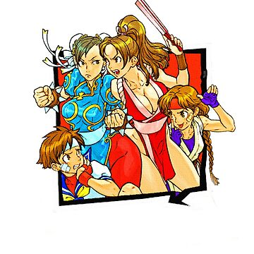 Fight Like A Girl: CVS2 by Legendarymutt