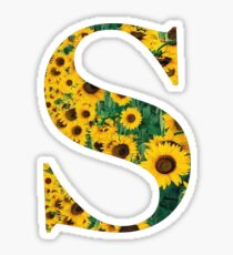 Sunflower S Sticker