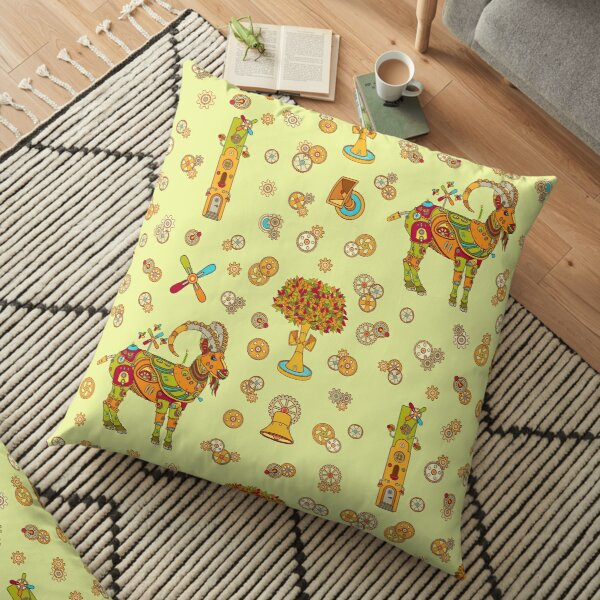 Ibex, from the AlphaPod collection Floor Pillow
