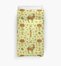 Ibex, from the AlphaPod collection Duvet Cover