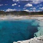 Sapphire Pool by Tamas Bakos