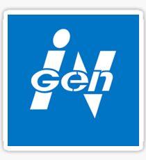InGen + IBM/ThinkPad Sticker