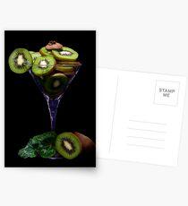Kiwi Juice Postcards