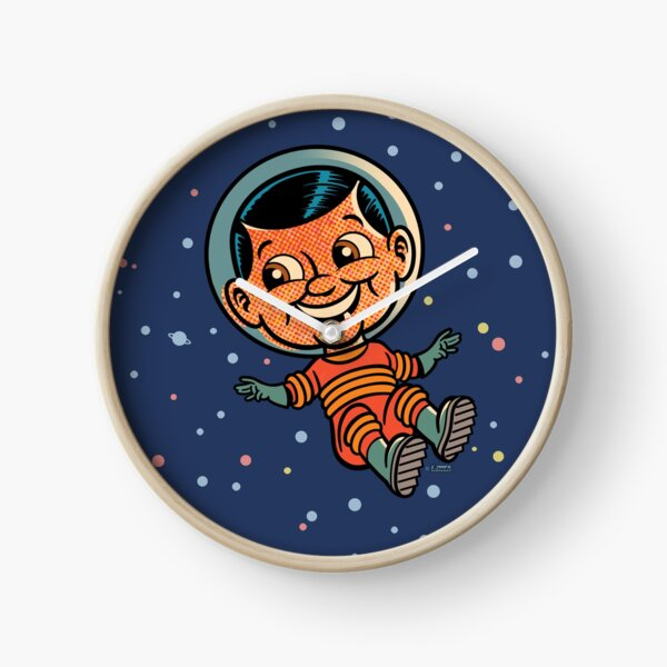 Spaceman in Space Clock