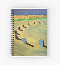 Merry Maidens Stone Circle, Cornwall. Spiral Notebook